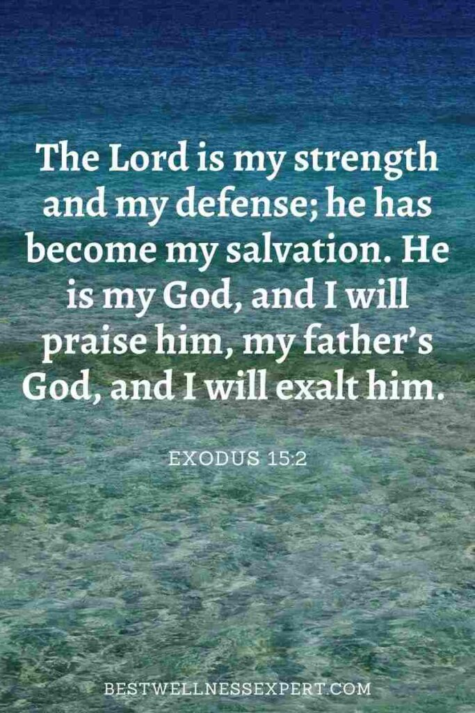 2 Bible Verses About Strength In Hard Times